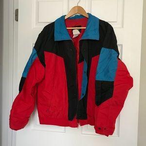 Vintage Colorblock '80s Ski Jacket